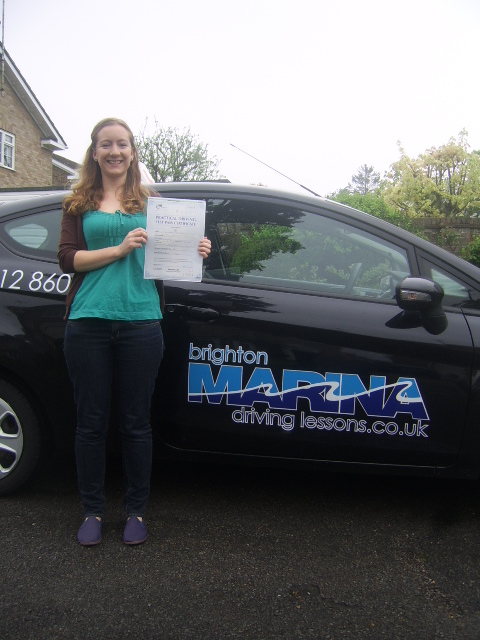 Ella Taylor from Hassocks, passed first time