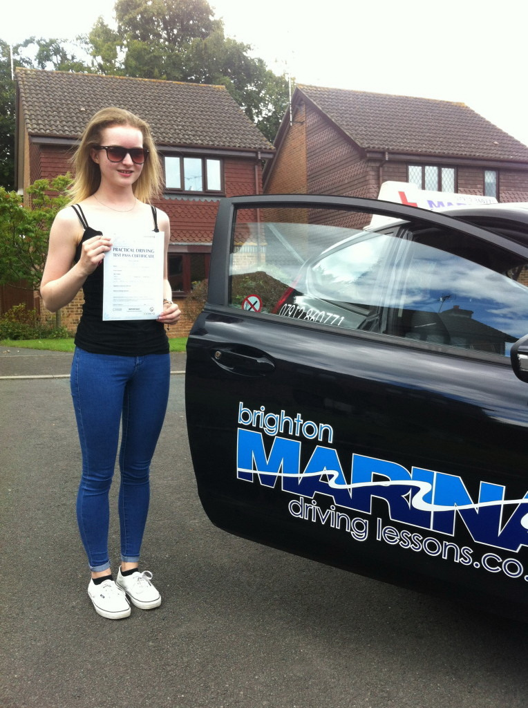 Lois Barber from Burgess Hill, passed first time